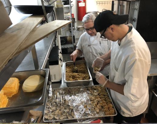New Ventures culinary program